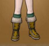 原始獣のブーツ