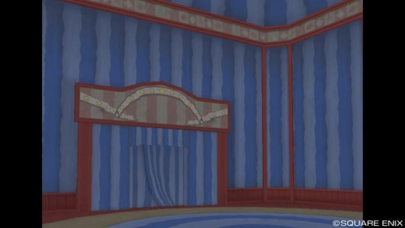 プクリポ装備カタログ★ドラクエ10-サーカスハウス内装青1
