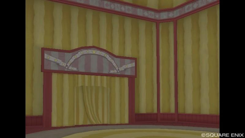 プクリポ装備カタログ★ドラクエ10-サーカスハウス内装黄色1