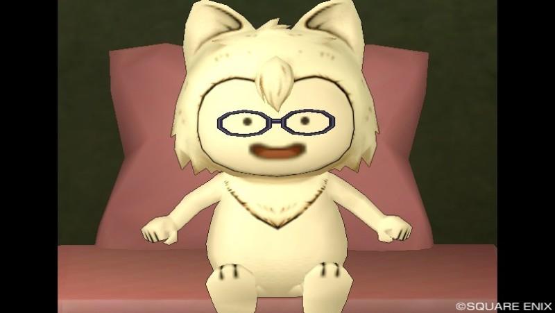 プクリポ装備カタログ@ドラクエ10-顔アクセ_いやしのメガネ