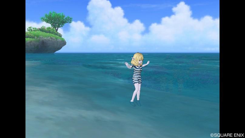 エル子_レトロな水着5