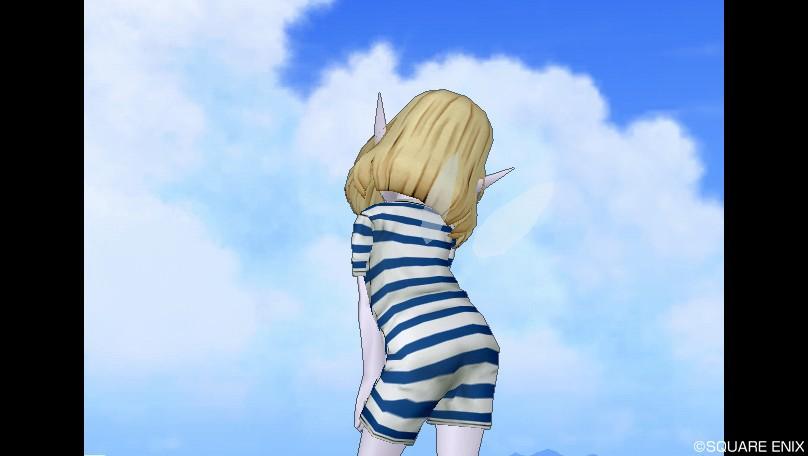エル子_レトロな水着4