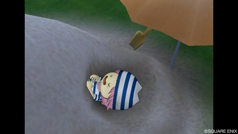サマーな砂風呂2