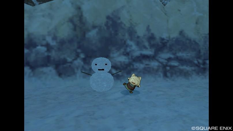 雪だるま発見!-プクリポ装備カタログ@ドラクエ10
