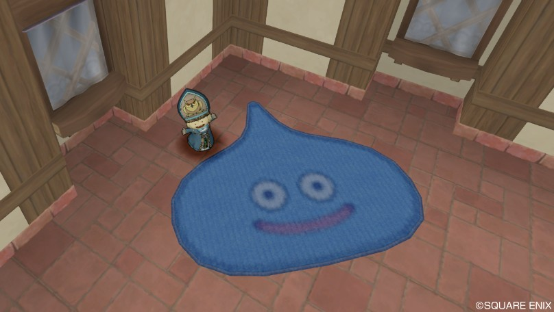 スライムのカーペット