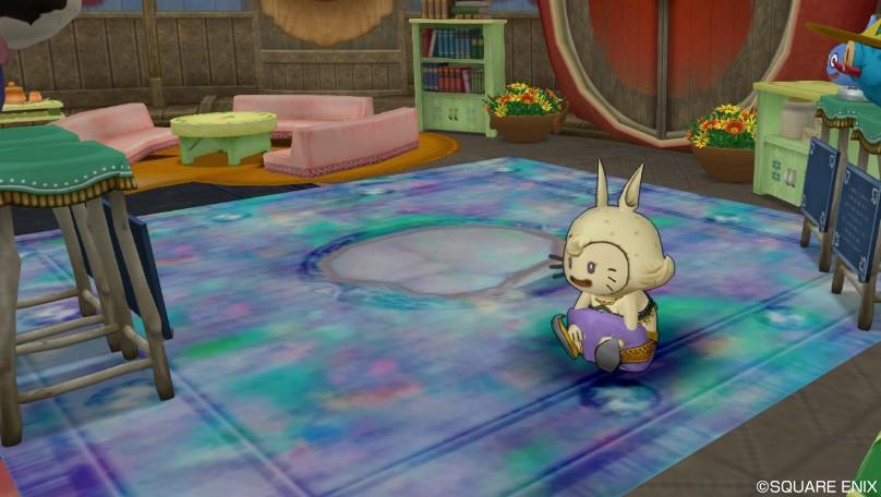 オパールのカーペット