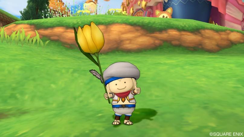 黄色チューリップ傘5