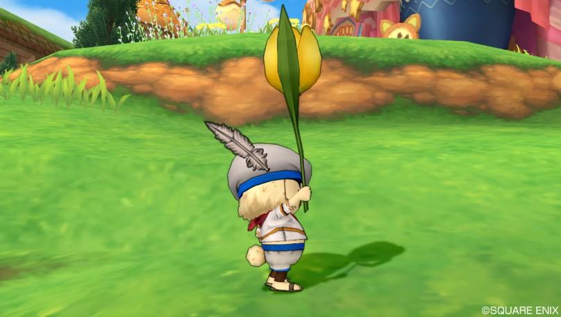 黄色チューリップ傘2