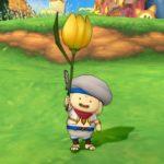 黄色チューリップ傘