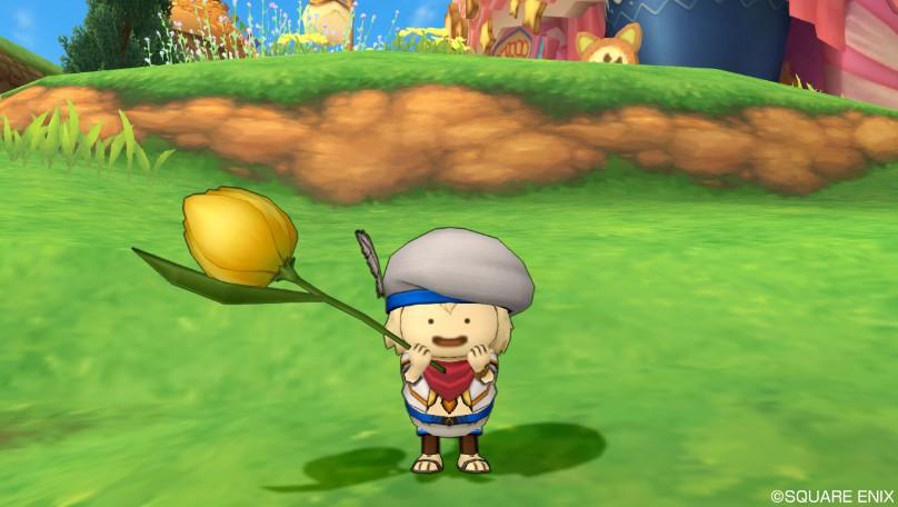 黄色チューリップ傘7