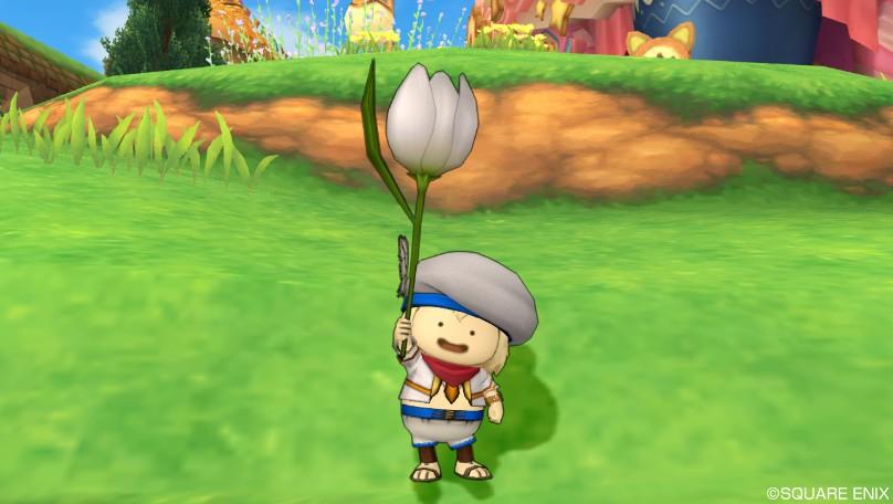 白色チューリップ傘