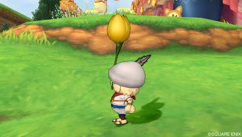 黄色チューリップ傘4
