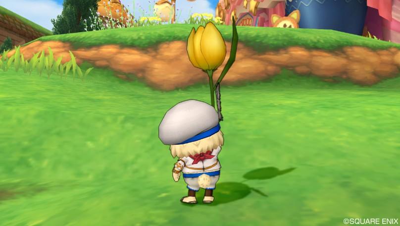 黄色チューリップ傘3