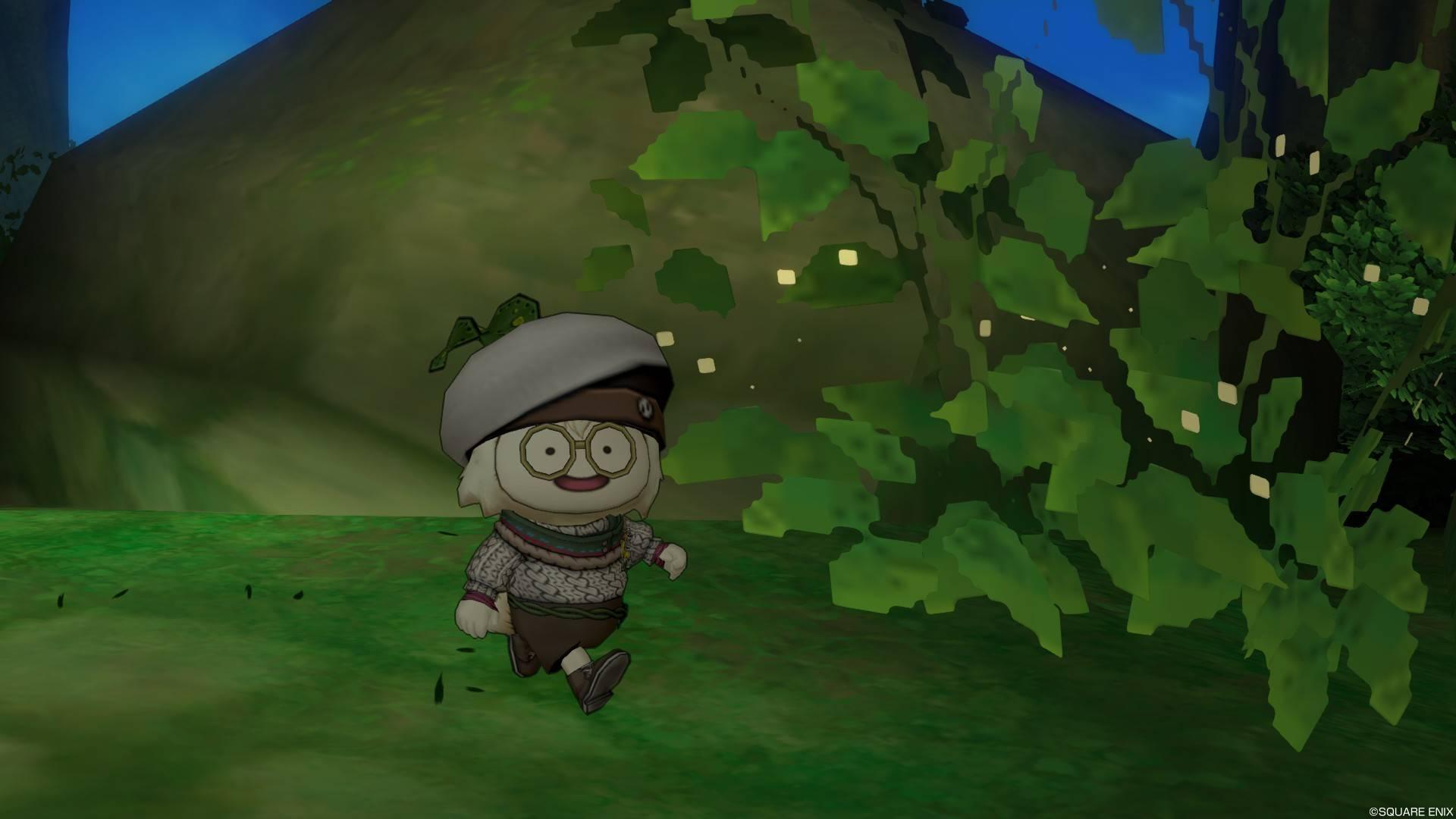 森を探索するプクリポ1