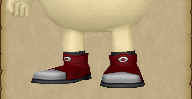 魔剣士のブーツ(プクリポは目が1つ)