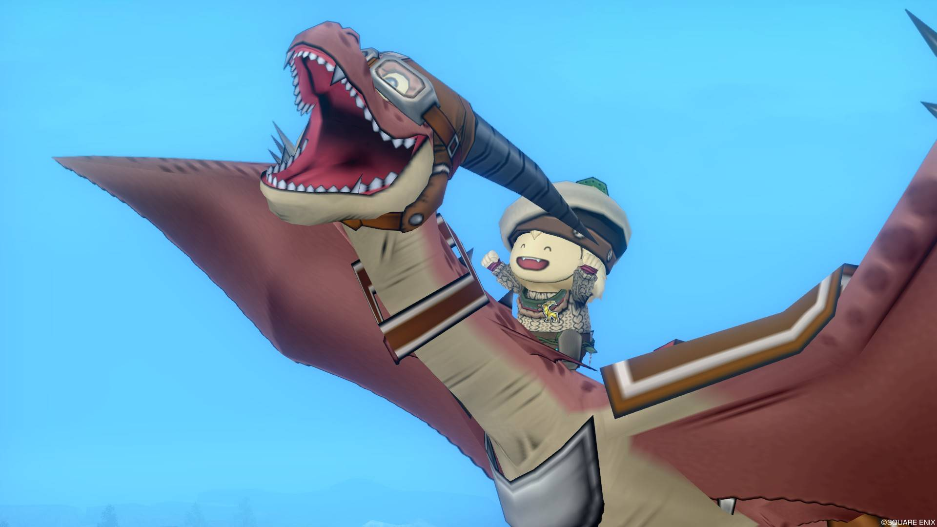 DQ10 飛竜のおめかし-冒険ゴーグル&冒険バッグ