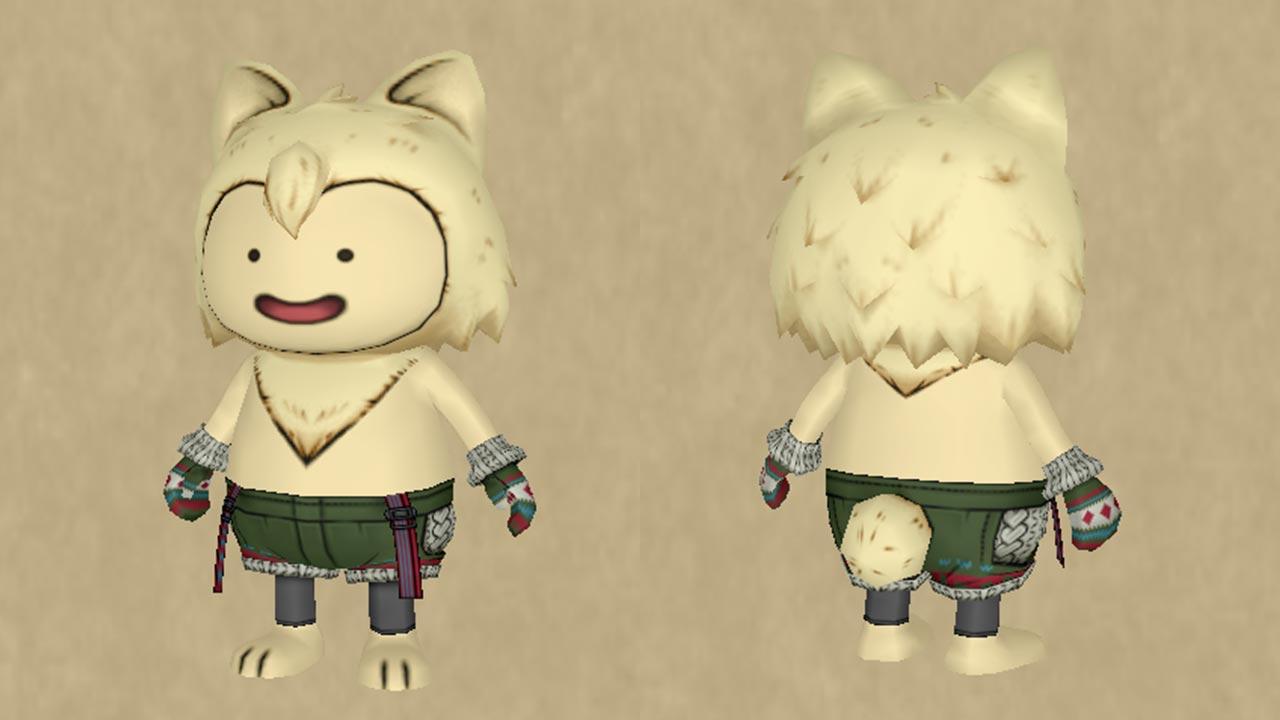 手編みのセーターセット-部位別2