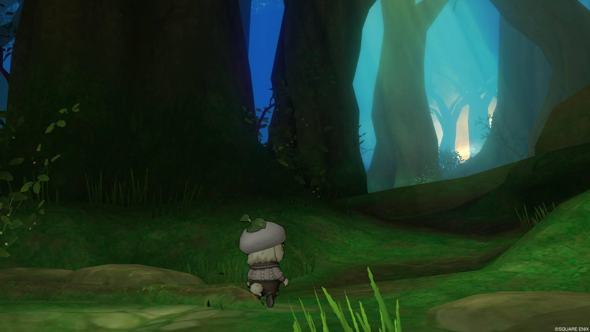 森を探索するプクリポ2