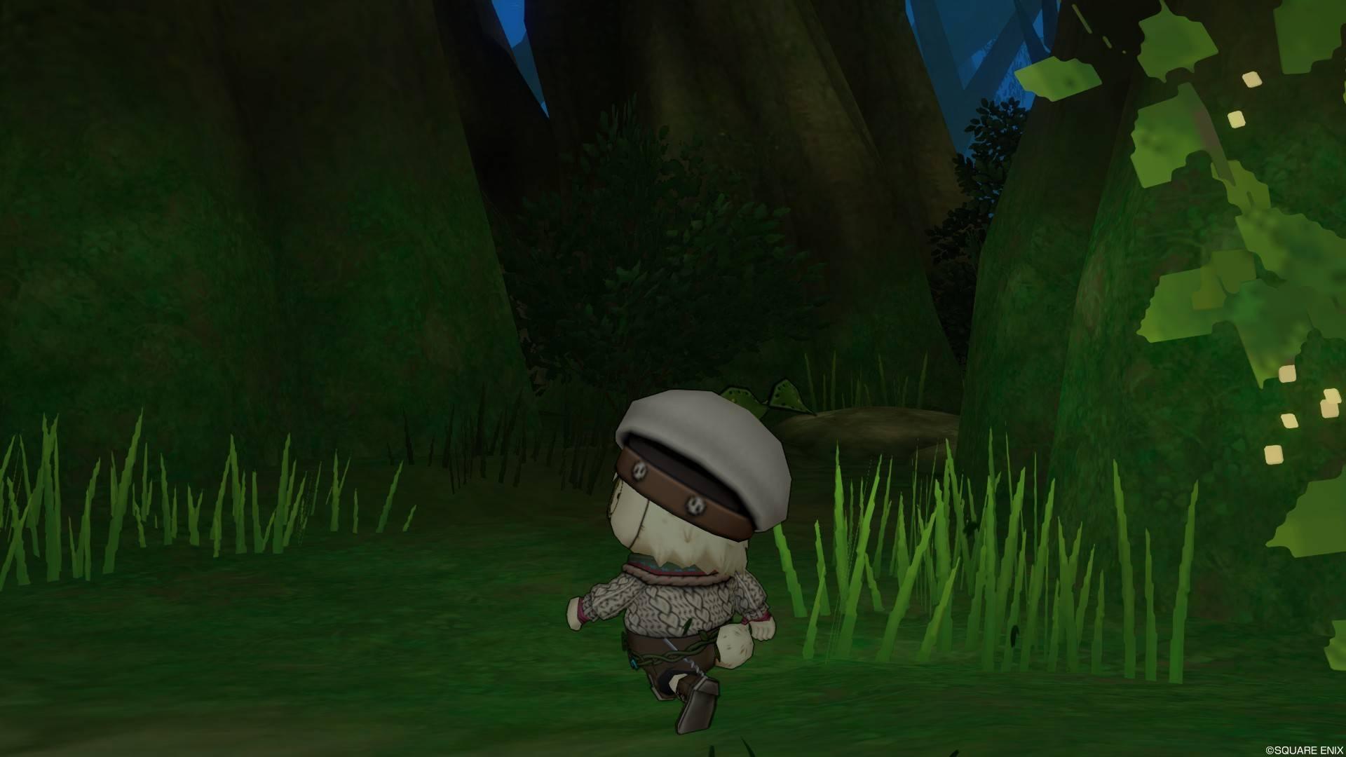 森を探索するプクリポ3