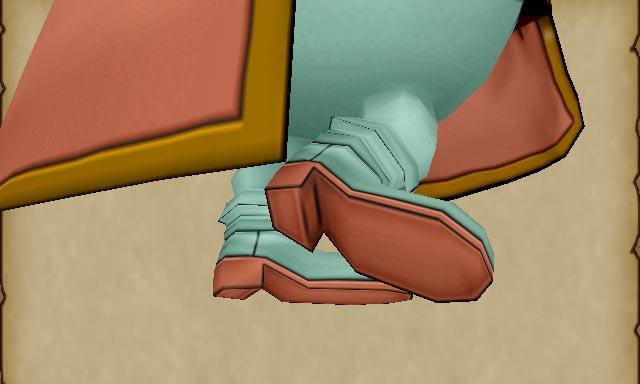 護りの盾のブーツ 靴裏