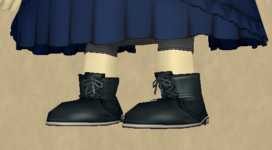 クマリスのブーツ詳細1