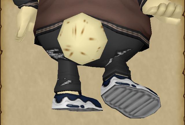 DQX-アワードスニーカーの靴裏