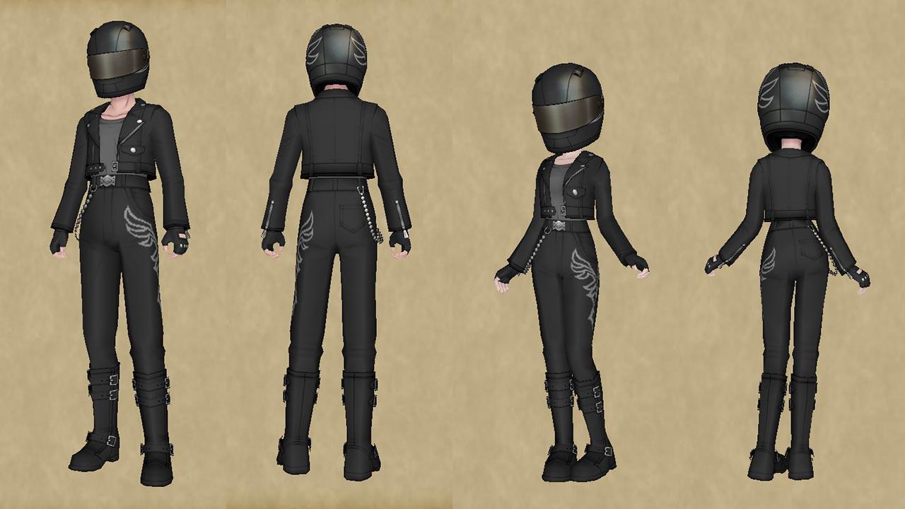 ライダースーツセット-人間