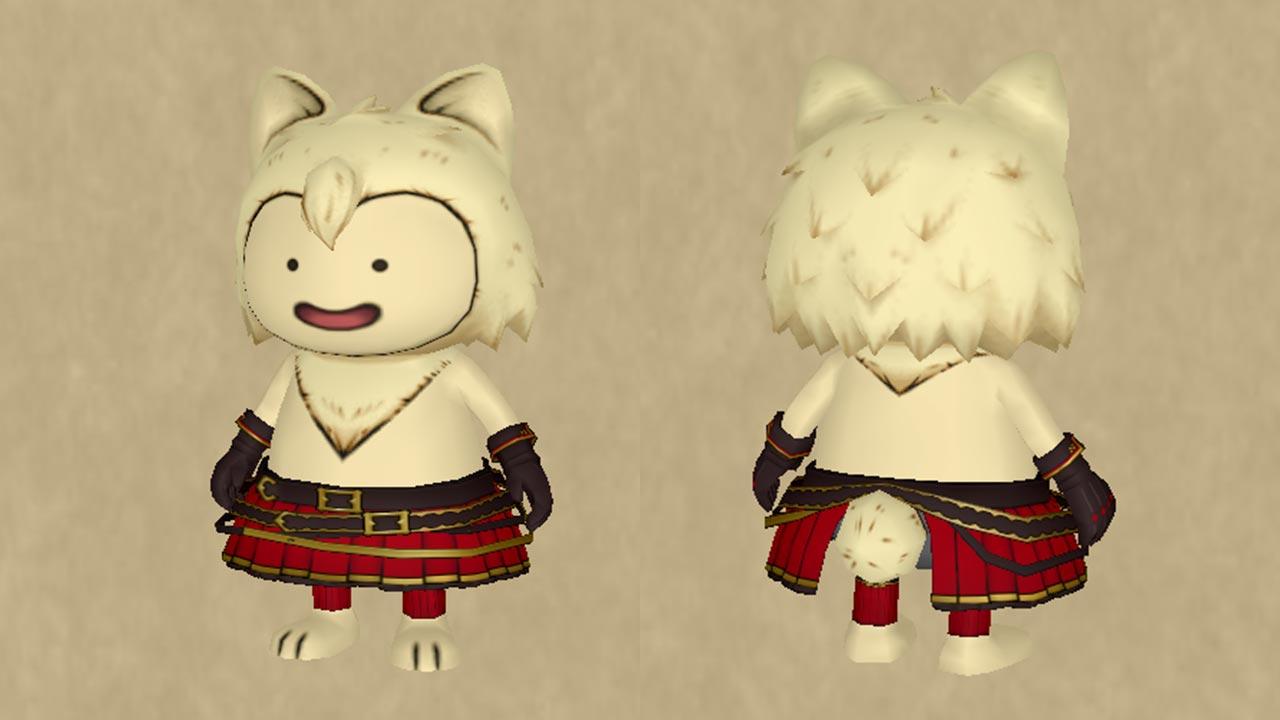 猫貴族のスカート&猫貴族のグローブ