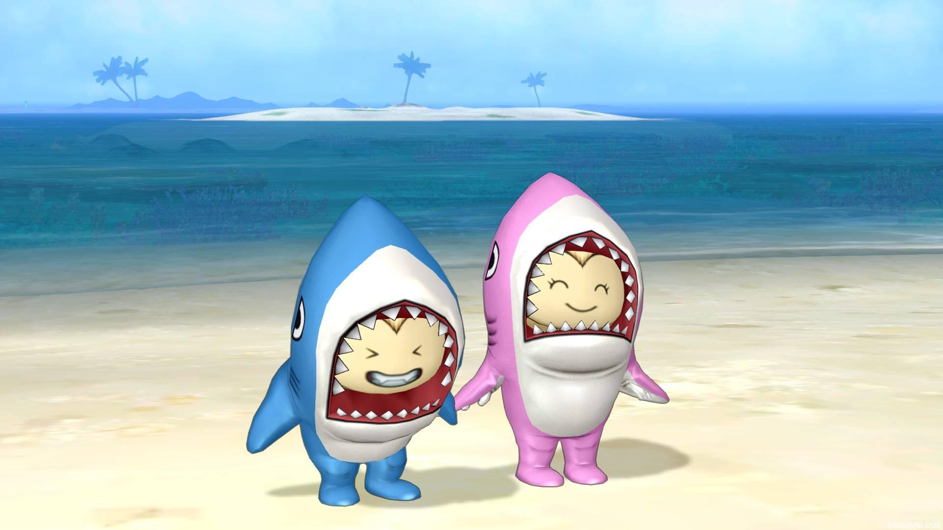 サメきぐるみ-2