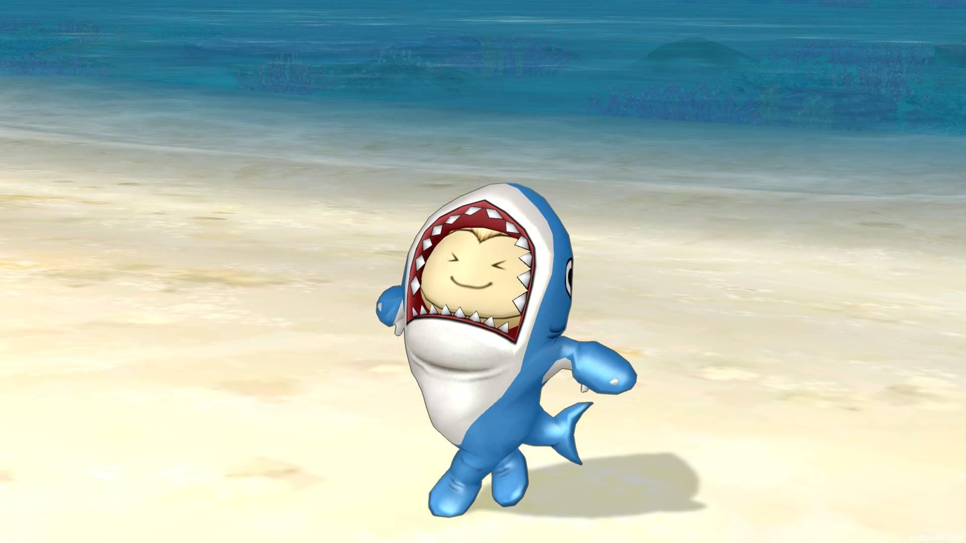 サメきぐるみ-開放の祈り