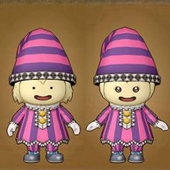 遊び人の服セット(プクリポ)