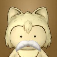 フサフサの白ヒゲ(プクリポ)