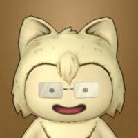 ふちなしメガネ(プクリポ)