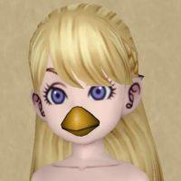 ヒヨコのマスク(人間)