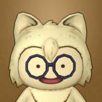 黒ぶちメガネ丸(プクリポ)