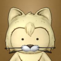 三毛猫マスク(プクリポ)