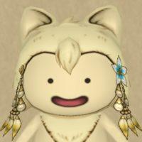 真珠のヘアビーズ(プクリポ)