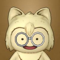 白ぶちメガネ丸(プクリポ)