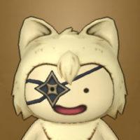 手裏剣アイパッチ(プクリポ)
