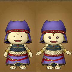 占い師の服セット(プクリポ)